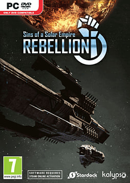 Sins of a Solar Empire: Rebellion PC Games Cover Art