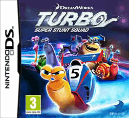Turbo: Super Stunt Squad DSi and DS Lite Cover Art