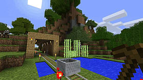 Minecraft: Xbox 360 Edition screen shot 2