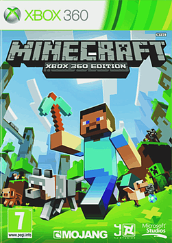 Minecraft Xbox 360 Cover Art