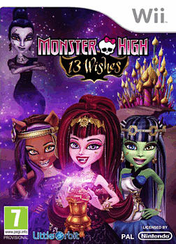 Monster High: 13 Wishes Wii
