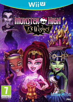 Monster High: 13 Wishes Wii U Cover Art