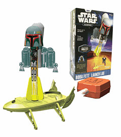 Star Wars Science Bobba Fett Launch Lab Toys and Gadgets