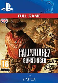 Call of Juarez: Gunslinger PlayStation Network