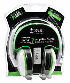 Turtle Beach Ear Force XL1 White Headset - Only at GAME Accessories