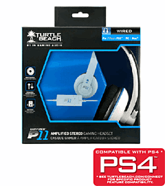 Turtle Beach Ear Force P11 White Headset - Only at GAME Accessories