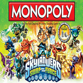 Skylanders SWAP Force Monopoly Toys and Gadgets