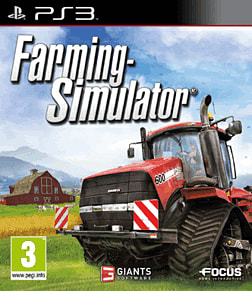 Farming Simulator PlayStation 3 Cover Art