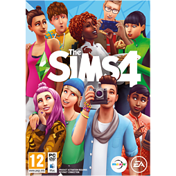 The Sims 4 PC Games Cover Art