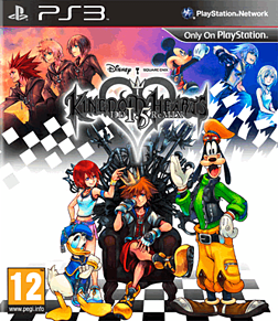Kingdom Hearts HD 1.5 ReMIX Limited Edition PlayStation 3 Cover Art