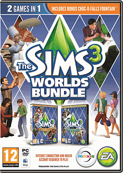 The Sims 3 Worlds Bundle PC Games Cover Art