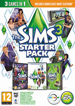 The Sims 3 Starter Pack PC Games Cover Art