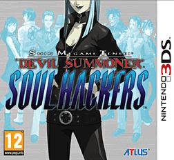 Shin Megami Tensei: Devil Summoner - Soul Hackers 3DS Cover Art