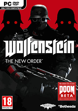 Wolfenstein: The New Order PC Games Cover Art