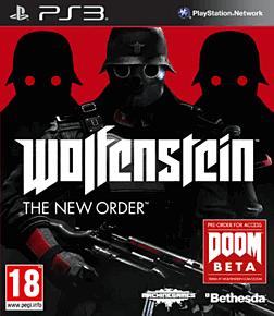 Wolfenstein: The New Order PlayStation 3 Cover Art