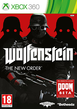 Wolfenstein: The New Order Xbox 360 Cover Art