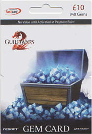 Guild Wars 2 Gem Card - £10 (940 Gems) Gifts