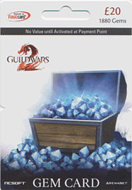 Guild Wars 2 Gem Card - £20 (1880 Gems) Gifts