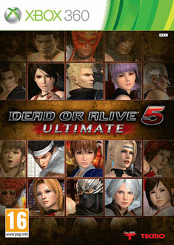 Dead or Alive 5 Ultimate Xbox 360 Cover Art