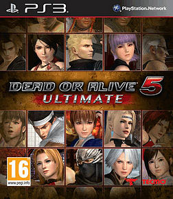 Dead or Alive 5 Ultimate PlayStation 3 Cover Art