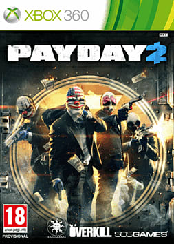 Payday 2 Xbox 360 Cover Art