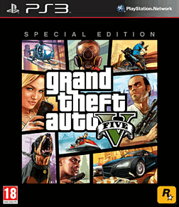 Grand Theft Auto V Special Edition PlayStation-3 Cover Art