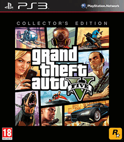 Grand Theft Auto V Collectors Edition PlayStation-3