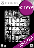 Grand Theft Auto V Collector's Edition - Deposit Xbox-360