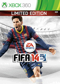 FIFA 14 Limited Edition Xbox 360 Cover Art