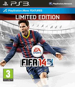 FIFA 14 Limited Edition PlayStation 3 Cover Art