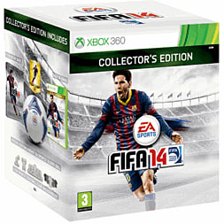 FIFA 14 GAME Exclusive Collectors Edition Xbox-360 Cover Art