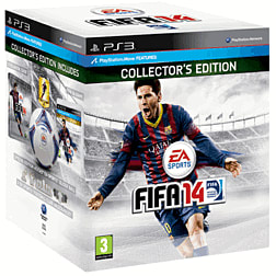 FIFA 14 GAME Exclusive Collectors Edition PlayStation-3 Cover Art