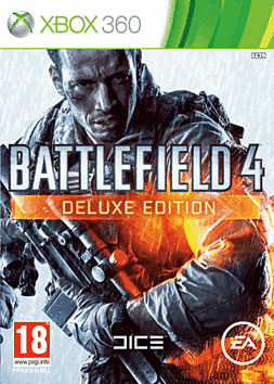 Battlefield 4 Deluxe Edition - Only at GAME Xbox 360 Cover Art