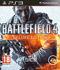 Battlefield 4 Deluxe Edition - Only at GAME PlayStation 3 Cover Art