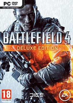 Battlefield 4 Deluxe Edition PC Games Cover Art