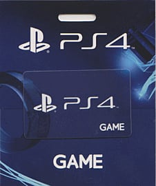 GAME Stores £20 PlayStation 4 Gift Card Gifts