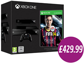 Xbox One Day One Edition with FIFA 14 Download - Deposit Xbox One
