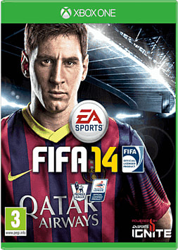FIFA 14 Xbox One Cover Art