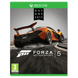 Forza Motorsport 5 Day One Edition Xbox One Cover Art