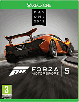 Forza Motorsport 5 Day One Edition - Only at GAME Xbox One Cover Art