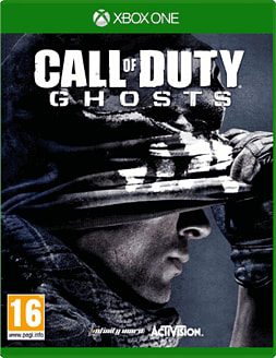 Call of Duty: Ghosts Xbox One Cover Art