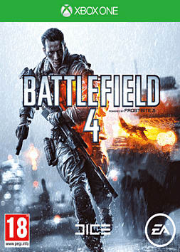 Battlefield 4 with China Rising Expansion Pack Xbox One Cover Art