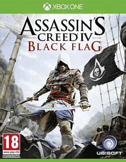 Assassin's Creed IV: Black Flag Xbox One Cover Art