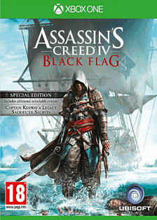 Assassin's Creed IV: Black Flag Special Edition Xbox One Cover Art