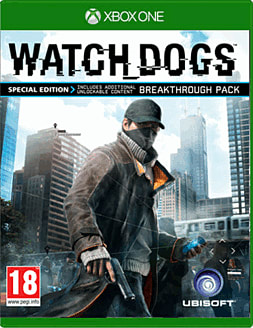 Watch Dogs Special Edition - Only at GAME Xbox One Cover Art