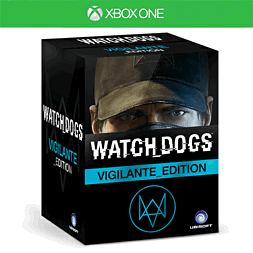 Watch Dogs Vigilante Edition - Only at GAME Xbox One Cover Art