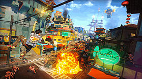 Sunset Overdrive Day One Edition screen shot 4