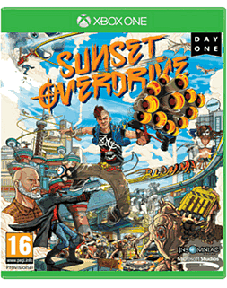 Sunset Overdrive Day One Edition Xbox One Cover Art