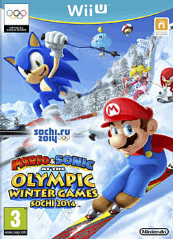 Mario & Sonic at the Sochi 2014 Winter Olympic Games Wii U Cover Art
