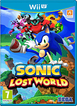 Sonic: Lost World Wii U Cover Art